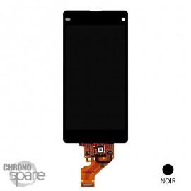Ecran LCD + vitre tactile Xperia Z1 Compact Noir (Compatible AAA)