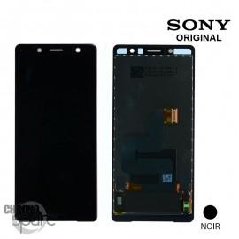 Ecran LCD + vitre tactile Noir Sony Xperia XZ2 Compact (officiel)