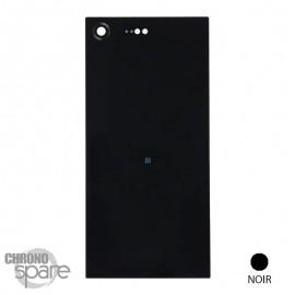Vitre arrière Sony Xperia XZ Premium - Noir Abyssal