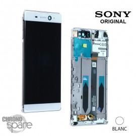 Ecran LCD + Vitre tactile Blanche Sony Xperia XA Ultra Dual F3211/F3212/F3215/F3216 (officiel)