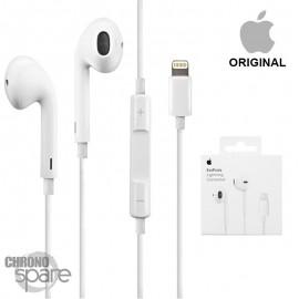 Écouteurs Apple EarPods (originaux) - intra-auriculaire - Prise lightning - avec boîte