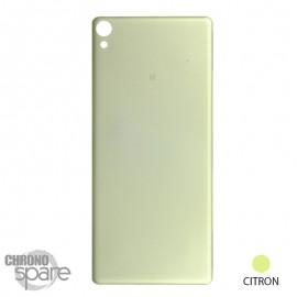 Vitre arrière Sony Xperia XA - Citron
