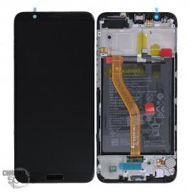 Ecran LCD + Vitre tactile Noire Honor View 10 BKL-L09 (officiel)