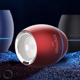 Enceinte Bluetooth avec réduction de bruit rouge ABODOS