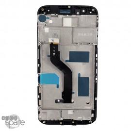 Ecran LCD + Vitre Tactile Huawei G8 - Noir avec chassis