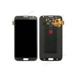 Vitre tactile et écran LCD Samsung Galaxy Note 2 N7105 gris (officiel) GH97-14114B