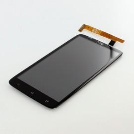 Vitre tactile et écran LCD HTC One X Noir