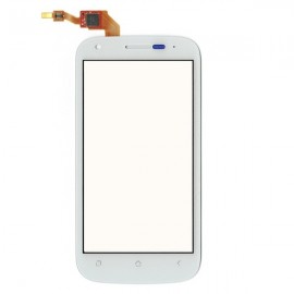 Vitre tactile Wiko Cink Peax ou Peax 2 Blanche AAA