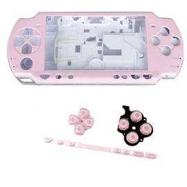 Coque complète rose PSP 2000