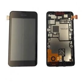 Vitre tactile et écran LCD Nokia Lumia 530 Noir