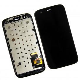 Ecran LCD + vitre tactile + châssis Motorola Moto G XT-1031/32/33/36/39 Noir