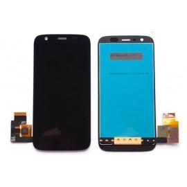Ecran LCD + vitre tactile + châssis Motorola Moto G 2ème génération 3G XT-1068 Noir