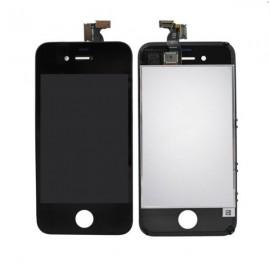 Ecran LCD + vitre tactile iPhone 4 Noir (toutes versions) Fournisseur T