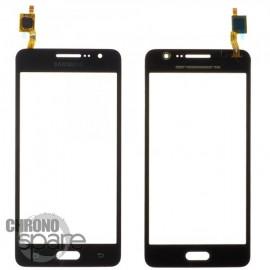 Vitre tactile noire Samsung Galaxy Grand Prime