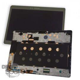 Vitre Tactile + Ecran LCD Samsung Galaxy Tab S 10.5 (T800) GH97-16028A Gris (officiel)