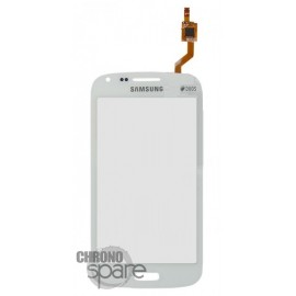 Vitre tactile Samsung Galaxy Core I8260 Blanche