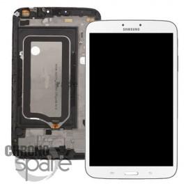 Vitre Tactile + Ecran LCD Tab 3 8'' (T310) GH97-14790A Blanc (officiel)