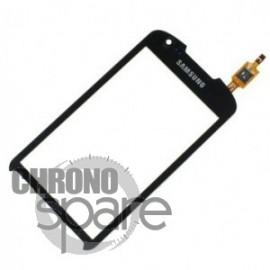Vitre tactile noire Samsung Xcover 2 S7710