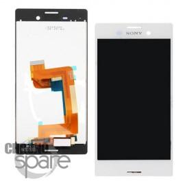 Bloc vitre + LCD Sony Xperia Aqua M4 Blanc