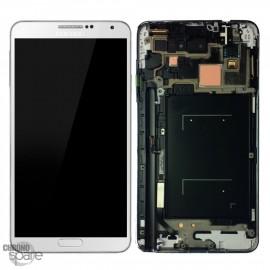 Vitre tactile et écran LCD Galaxy Note 3 N9005 Blanc (officiel) GH97-15209B