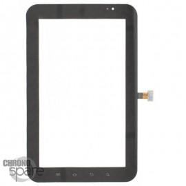 Vitre tactile Galaxy Tab P1000 noire