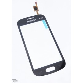 Vitre tactile Samsung Trend Lite S7390 Noire