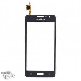 Vitre tactile noire Samsung Galaxy Grand Prime G530F GH96-07760B (officiel)