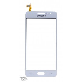Vitre tactile blanche Samsung Galaxy Grand Prime G530F GH96-07760A (officiel)