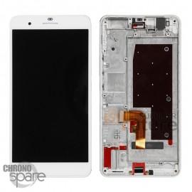 Ecran LCD + Vitre Tactile Blanche + Chassis pour Honor 6 Plus