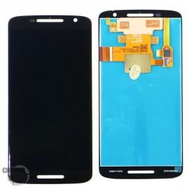 Ecran LCD + Vitre Tactile Noire pour Motorola Moto X Play