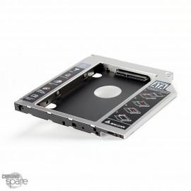 Adaptateur universel Disque Dur pour emplacement lecteur CD/DVD