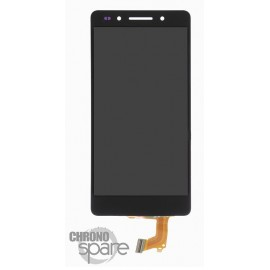 Ecran LCD + Vitre Tactile Noir Honor 7