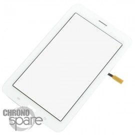 Vitre tactile Blanche Samsung Tab 3 7'' 3G T111