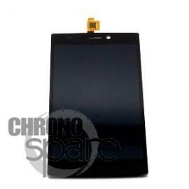 Ecran LCd et Vitre tactile Noire Wiko Ridge 4G - N402-Q68130-010