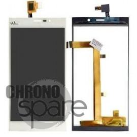 Ecran LCD et Vitre tactile Blanche Wiko Ridge Fab 4G - N402-Q67050-000