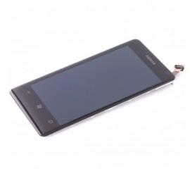Vitre tactile et écran LCD Nokia Lumia 800 Noir