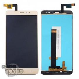 Ecran LCD et Vitre Tactile Or Xiaomi Redmi Note 3