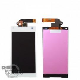 Ecran LCD et Vitre Tactile blanche Xperia Z5 Compact E5803 E5823