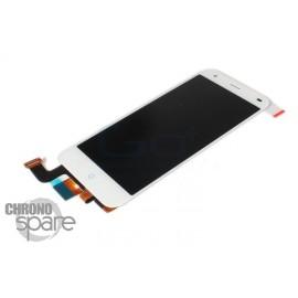 Ecran LCD + Vitre Tactile blanche ZTE Blade S6
