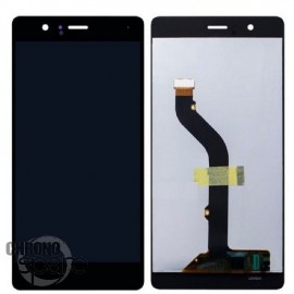 Ecran LCD et Vitre Tactile noire Huawei P9 Lite