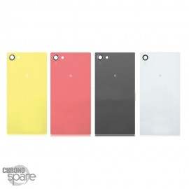 Vitre arrière Blanche Sony Xperia Z5 Compact mate