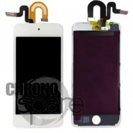 Ecran LCD + vitre tactile iPod touch 5 Blanc