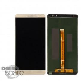 Ecran LCD & Vitre Tactile Or Huawei Ascend Mate 8