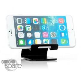 Support aluminium Noir smartphone / tablette