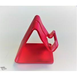 Support aluminium Rouge smartphone/tablette