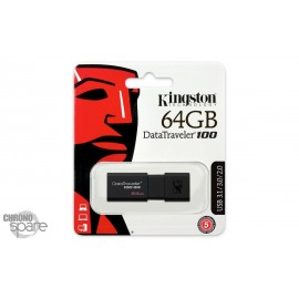 Clé USB Kingston 64Go USB 3.0 DataTraveler (DT100G3/64GB)