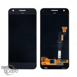 Bloc LCD + Vitre tactile Noir Google Pixel
