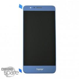 Ecran LCD + Vitre tactile Bleu Honor 8