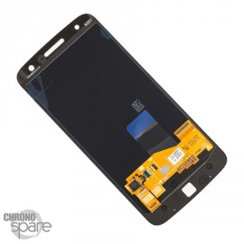 Ecran LCD + Vitre tactile Noire Motorola Moto Z XT 1650