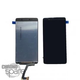 Ecran LCD + Vitre tactile noire Blackberry Dtek 50